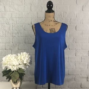 Travelers by Chico's blue tank